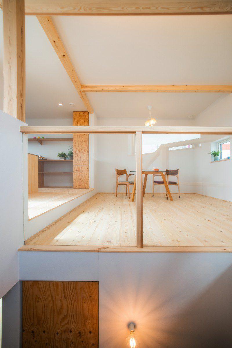 2階リビングでリラックスできる家 画像9