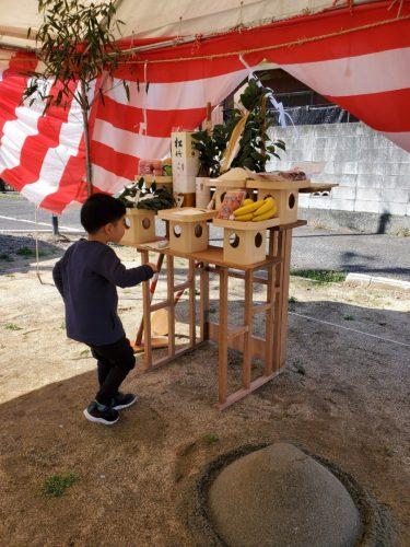 3月はイベント盛りだくさんでした 山越町で地鎮祭