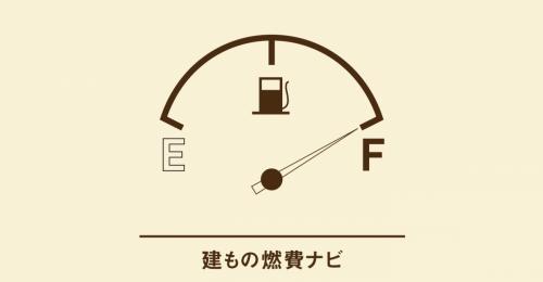 建もの燃費はどうやって表現されているのか