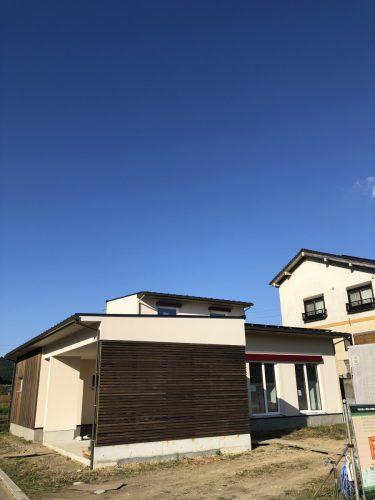 宇和町『さくら団地の家』足場が外れました☆