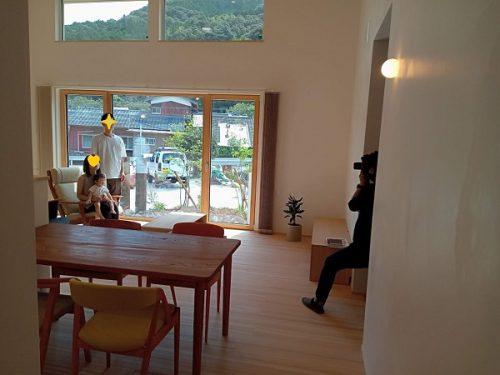 小沢川の家竣工写真撮影