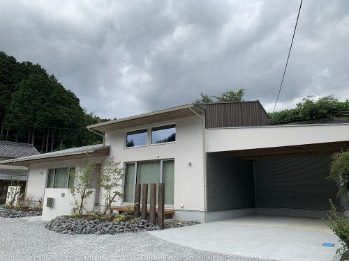『小沢川の家』個別完成案内終了しました